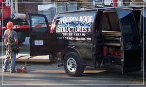About Wooden Roof Structures | Wooden Roof Structures | Truss Repairs and Reinforcing | Truss Fabrication & Erection | Roof Structure Inspections | Engineered Beams and Decking | Emergency Shoring