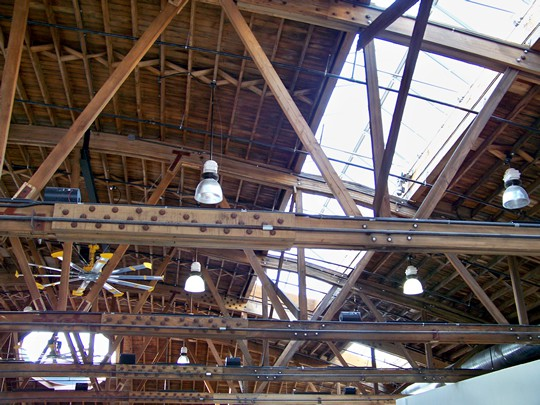 Wood Truss Repair : Wooden roof structures truss repairs and reinforcing